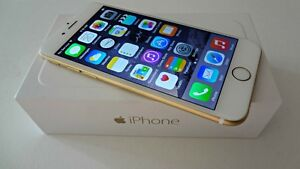iPhone 6 - 128 Gb Gold and gel case