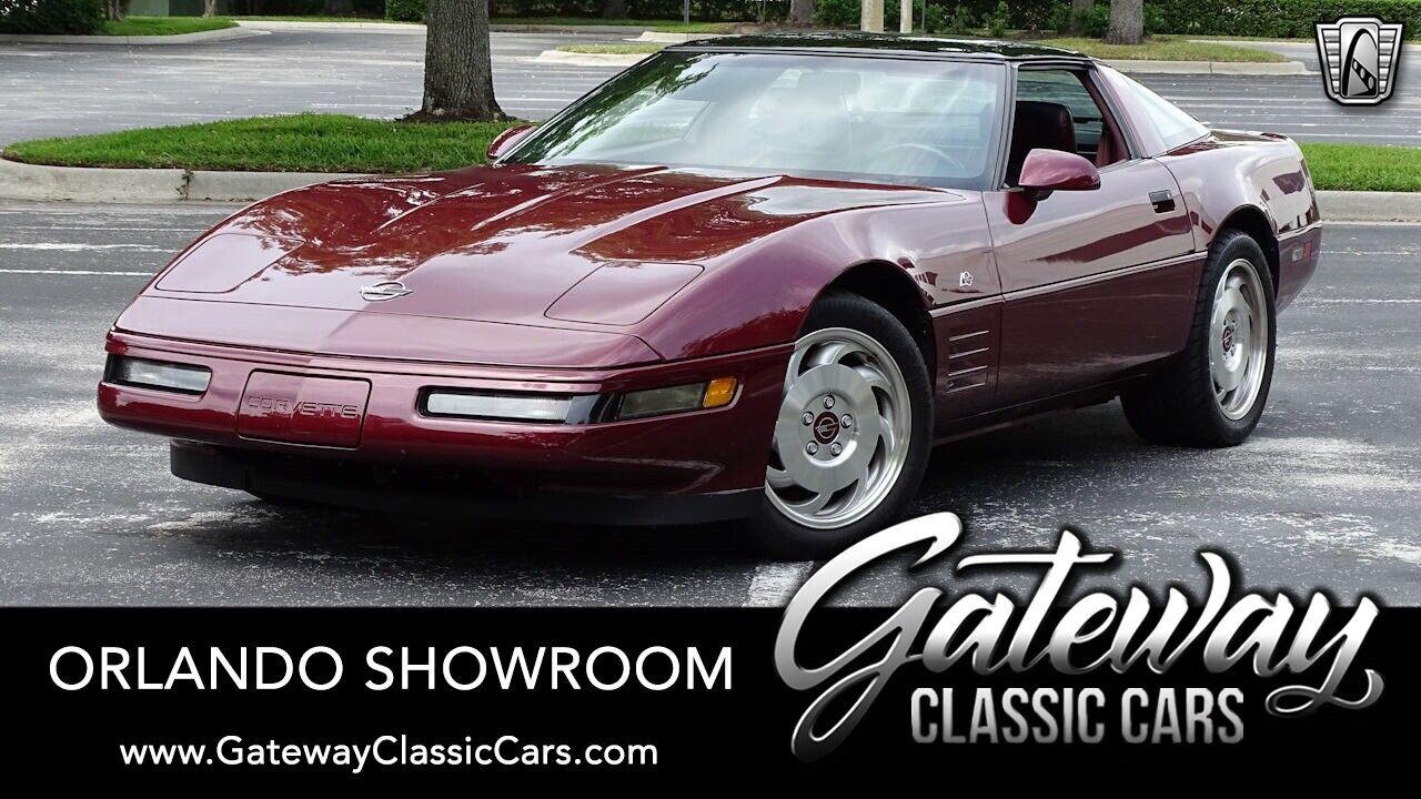 1993 Red Chevrolet Corvette     C4 Corvette Photo 1