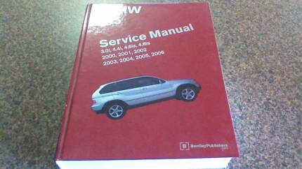 BMW X5 E53 SERVICE MANUAL, BENTLEY HARD COVER Yanchep Wanneroo Area Preview