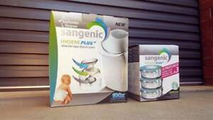 NEW Sangenic Nappy Disposal System w Refill x3 | Tommy Tippee