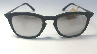 Dockers Men's Mirrored Sunglasses Black Round Style (Dockers Black Sunglasses)