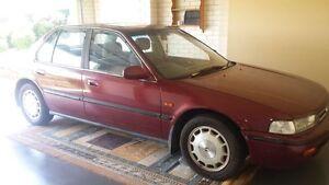 1992 Honda Accord Sedan Molendinar Gold Coast City Preview