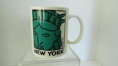 Mary Ellis Statue of Liberty New York Souvenir Mug Fifth Ave Manufacturers 12 oz