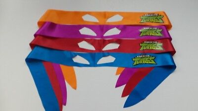 Tmnt Bandana (SDCC Comic Con 2018 Handout TMNT Bandana / Headband mask set of 4)