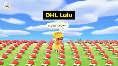 👑 Animal Crossing New Horizons 40 Royal Crowns 12 Million Bells Online Servicce