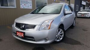 2012 Nissan Sentra NO HST 1 WEEK ONLY-2.0 S-SPOILER-ALLOY WHEELS