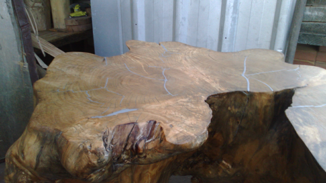 Bespoke Cypress And Solder Coffee Table Md Coffee Table