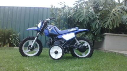 yamaha pw-50 with training wheels