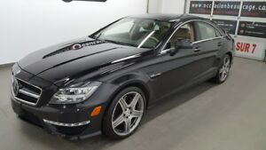 2014 Mercedes-Benz CLS-Class 63 AMG advanced driving assistance,