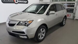 2012 Acura MDX SH-AWD, 7 places, toit ouvrant, cuir gris NO DAMA