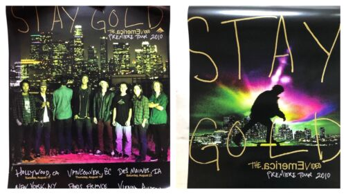 "Emerica ""Stay Gold"" video tour poster 2010 Double Sided 18"" x 24"""