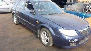 2002 Mazda 323, astina BJ, BLUE, MANUAL, 1.8 , NOW IS WRECKING Kudla Gawler Area Preview
