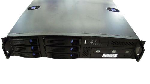 Chenbro RM21706 2U HotSwap Rack Mount Server Installed 2.4ghz 4gb 2x 750gb 460W