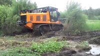 Forestry clearing/mulching/clearing/fence line clearing