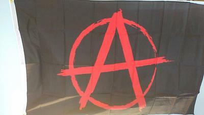 3 x 5 Anarchy Flag