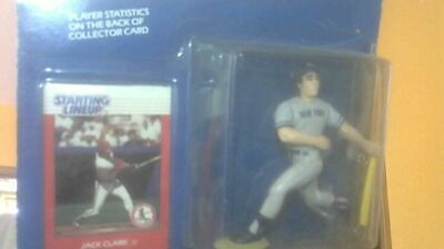 Jack Clark of New York Yankees action figure - Starting Lineup 1988 series