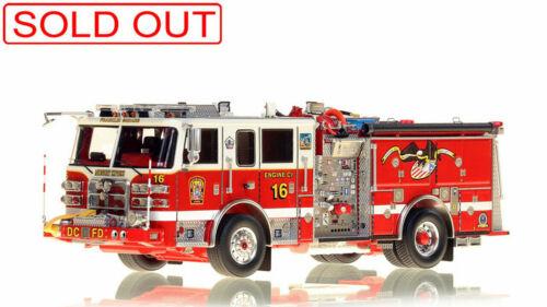 Washington DC Pierce Arrow XT Engine 16 1/50 Fire Replicas FR094-16 LAST ONE New