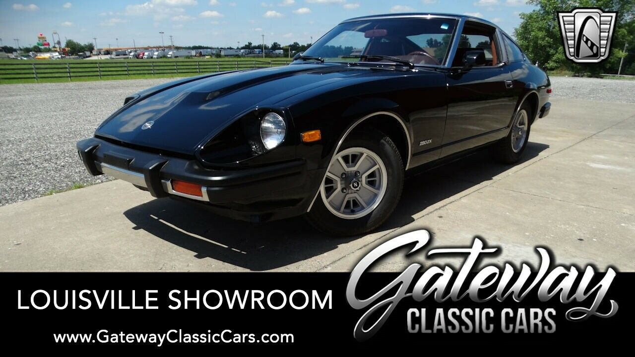 Black 1980 Datsun 280ZX Coupe Inline 6 OHC 5 Speed Manual Available Now!