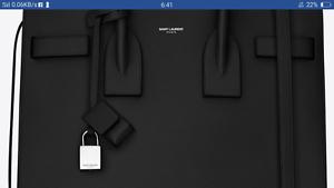 FOR SALE Saint Laurent Paris black hang bag Quakers Hill Blacktown Area Preview