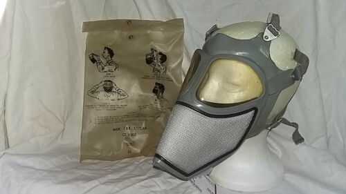 *Gas Mask CBR Civilian CD V-805 /  in package 1963 - size 5