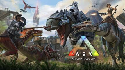 ★XBox One S 500GB Console & ARK (Survival Evolved) Game