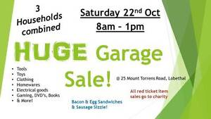 Huge 3 Family Garage Sale! Lobethal Adelaide Hills Preview