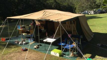 TP Alko Off Road Aussie Made Camper w 12FT Tent & Drifta kitchen
