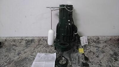 Zoeller D284 1 Hp 1725 Rpm 230vac Vertical Float Sewage Ejector Pump F