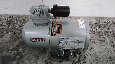 Gast 1hab-44-m100x 16 Hp 1725 Rpm 115vac 14 In Npt Piston Air Compressor C