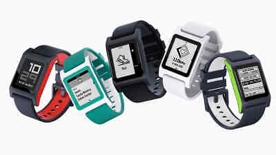 Pebble 2 + Heart Rate Smart Watch for Apple/Android