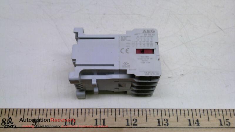 AEG SH05-40E, CONTACTOR, 480V, MINI POWER RELAY MOTOR STARTER #232782