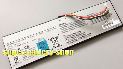 "Genuine GX-17S battery For Aorus X3 Plus V4 V3 V5 V3-CF2  X7 17""  X7 V2 V7-CF1"