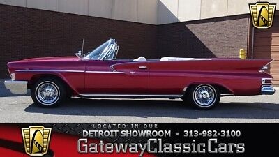 Newport -- 1961 Chrysler Newport  13505 Miles Red Convertible 383 CID V8 3 Speed Automatic