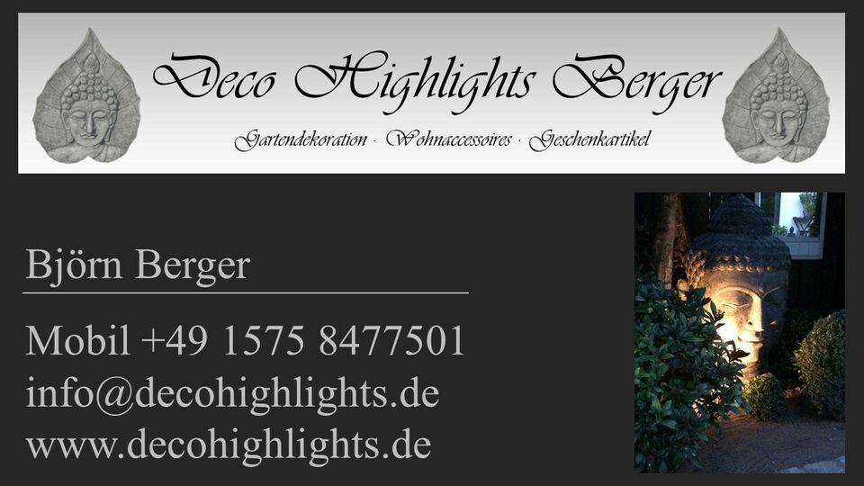 Vogeltränke Blatt Steinguss · Deko Haus Garten · Neu · 59 Euro* in Bocholt