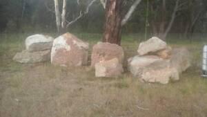 sandstone  bush rock Goulburn City Preview