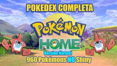 960 Pokemon Normal Home Espada y escudo PokeDex completa 1-7 Gen -...