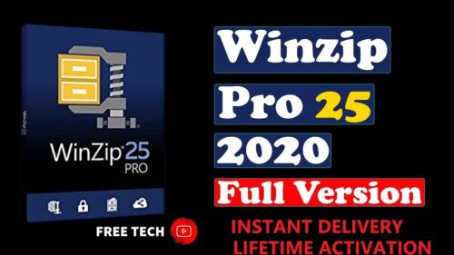 WinZip 25 Pro  2020  / LIFETIME / FULL VERSION