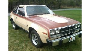 1981 AMC Spirit Project car