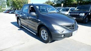 2011 Ssangyong Actyon Sports 100 Series MY11 Sports 4x2 Grey 6 Speed Automatic Utility St James Victoria Park Area Preview