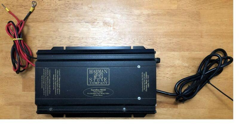 Harman Manual Stove Battery Backup 502H -