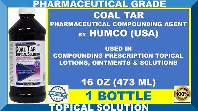 HUMCO COAL TAR TOPICAL SOLUTION PHARMACEUTICAL PRESCRIPTIONS STRENGTH 08/20 USA