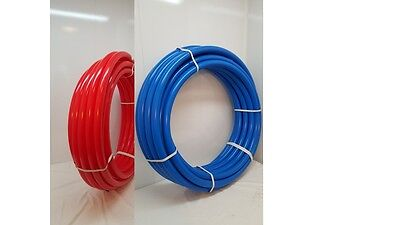 """*NEW* Certified Non Barrier 1/2"""" 200' TOTAL~100' RED&100' BLUE PEX Tubing"""