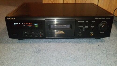 Sony TC-KE500S 3-Head Cassette Deck With Dolby S  {{{REFURBISHED}}}