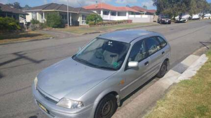FORD LASER HATCH/STATION WAGON MANUAL