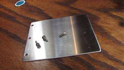 Ab - 4 X 3 Stainless Applicator Plate For Label Applicator Machine