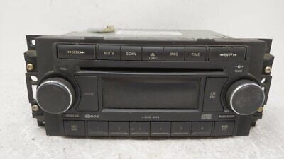 2006-2008 Dodge Ram 1500 Am Fm Cd Player Radio Receiver 62138