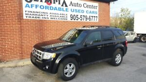2009 Ford Escape 4 CYLINDER, 5 SPEED - CERT & EMIS