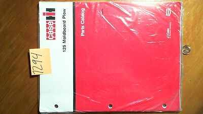 Case 125 Moldboard Plow Parts Catalog Manual Rac 8-6750
