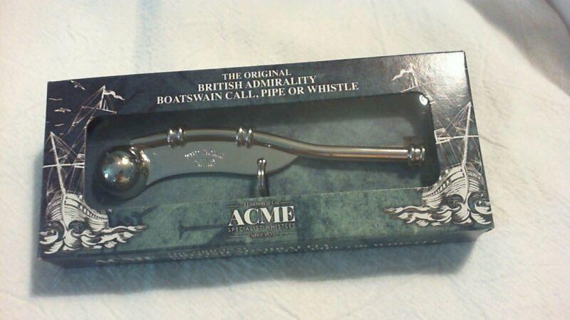 Acme Boatswain Pipe Whistle, model 12