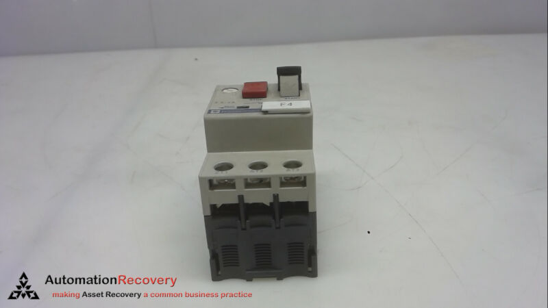 SCHNEIDER ELECTRIC GV2-M08, MANUAL MOTOR STARTER, 6-10 AMPS #261618